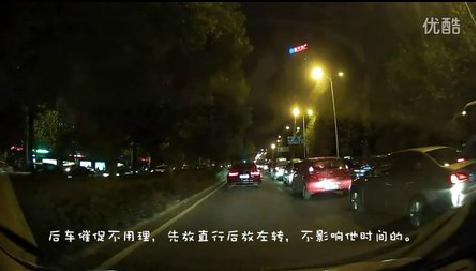 新手开车上路怎么安全通过红绿灯路口