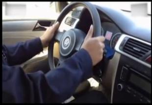 驾考科目二方向盘操作方法视频解析