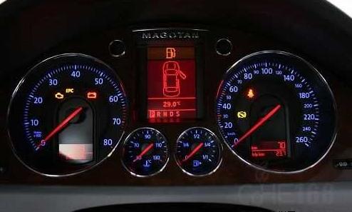 汽车仪表盘上的指示灯含义