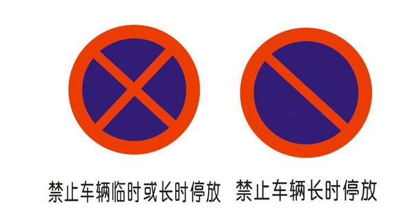 禁止停车标志类型有哪些