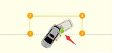 侧方位停车技巧图解 四步轻松停车