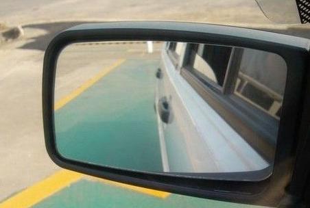 倒车入库后视镜图解|国内驾照信息