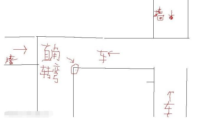汽车转弯结构原理图