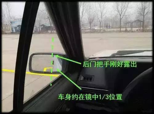 倒车入库技巧图解2015|学车知识