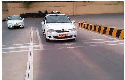 坡道定点停车和起步技巧详解