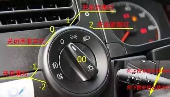 捷达车 科目三 灯光使用图解 300x171-青岛新捷达科目三图片高清图片