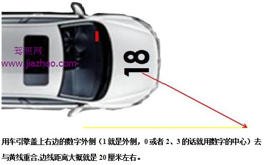 c1上坡路定点停车与坡道起步技巧图解 驾照考