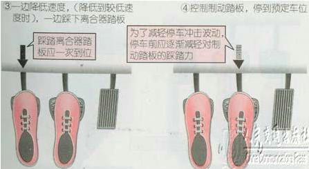 新手起步停车技巧图解插图(5)