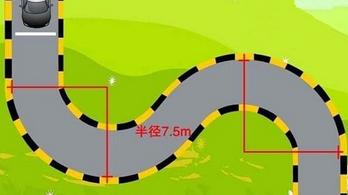 科目二S型曲线行驶技巧详解