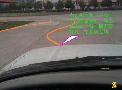 2016年曲线行驶技巧图解