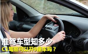 C1驾驶证能开什么车?c1驾驶准驾车型插图