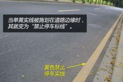 单黄实线能掉头吗|经验交流 - 驾照网