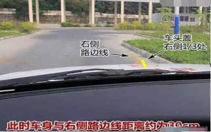 科目二侧方位停车过关技巧图解
