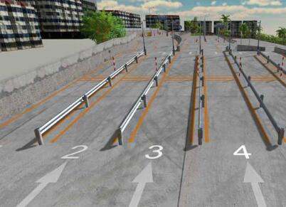 科目二坡道定点停车和起步技巧2017