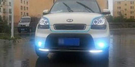 开车时遇到倾盆大雨 汽车雾灯有什么用?