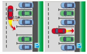 新手学堂 三种简单实用的侧方停车技巧插图
