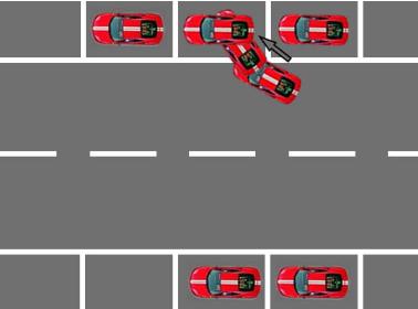 现实中侧方位停车技巧,该怎么做