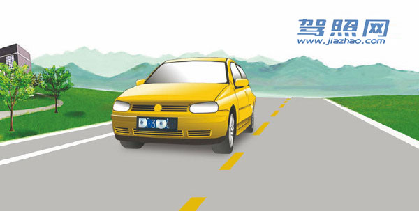 驾照考试科目一_2020科目一模拟考试_驾照科目一模拟考试插图(1)