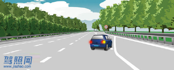 驾照考试科目一_2020科目一模拟考试_驾照科目一模拟考试插图(51)