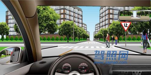 驾照考试科目一_2020科目一模拟考试_驾照科目一模拟考试插图(36)