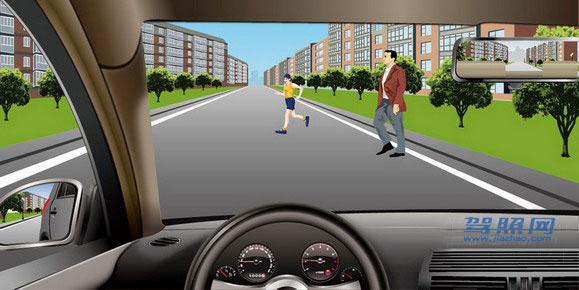 科目一考试题库第1章:道路交通安全法律、法规和规章插图(18)