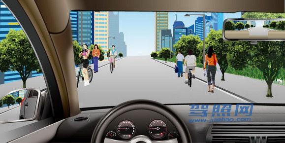 科目一考试题库第1章:道路交通安全法律、法规和规章插图(15)