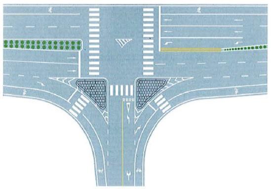 导流线 图片大全 图解 交通安全标志